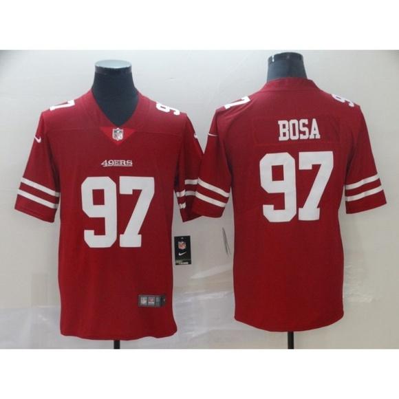 buy popular a2340 397f2 San Francisco 49ers Nick Bosa Jersey